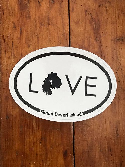 LOVE MDI Non-profit Sticker