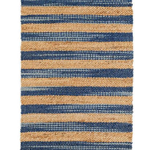 Dash & Albert Corfu Blue Jute Rug