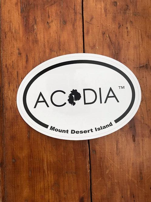 ACADIA MDI Non-profit Sticker