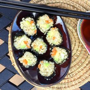 Sushi au quinoa