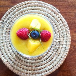 Pudding de chía à la mangue