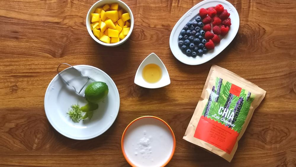 Pudding Fruits et Chia Bio Équitable