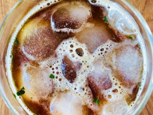 Café glacé, menthe & limonade