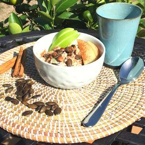 Bol de quinoa au petit déjeuner
