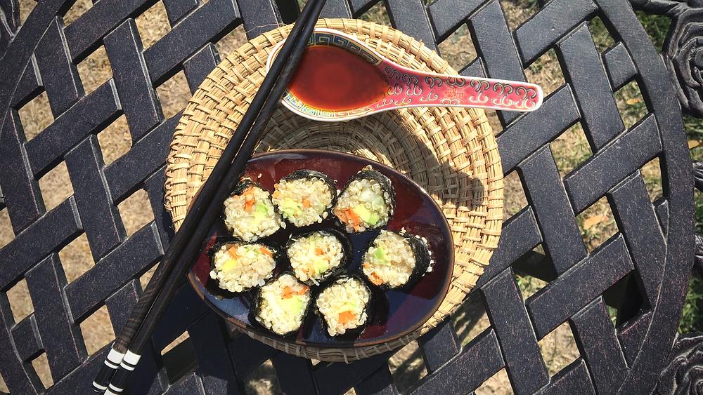 Sushi Vegan Quinoa Bio Équitable
