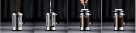 Préparer Café Bio Équitable Cafetière Piston