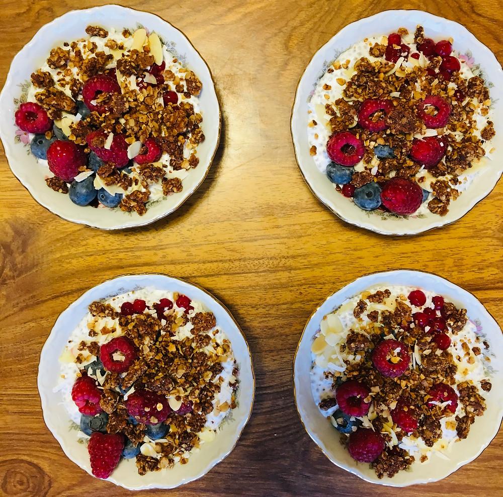 Recette Facile Pudding Chia Bio Équitable