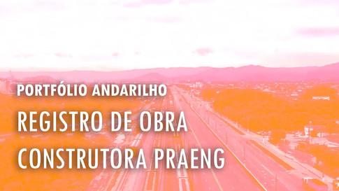 Obra de Passarela no Guarujá