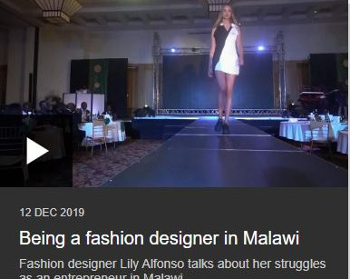 Being a fashion designer in Malawi