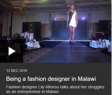 Being a fashion designer in Malawi