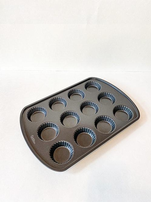 Wilton 12-Cavity Non-Stick Mini Tart Pan