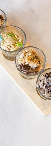 Edible Cookie Dough Flight