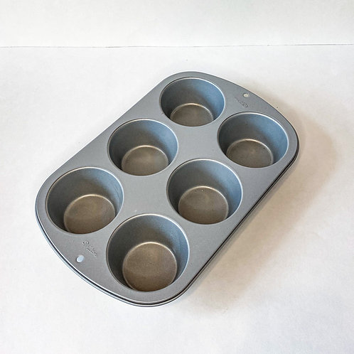 Non-Stick Jumbo Muffin Tin Aluminized Steel