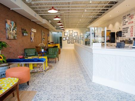 Milk Dessert Bar: Behind the Counter