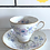 Thumbnail: Antique Teacups and Saucers
