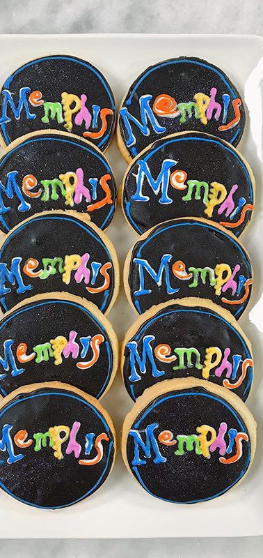 Beale Street Memphis Cookies