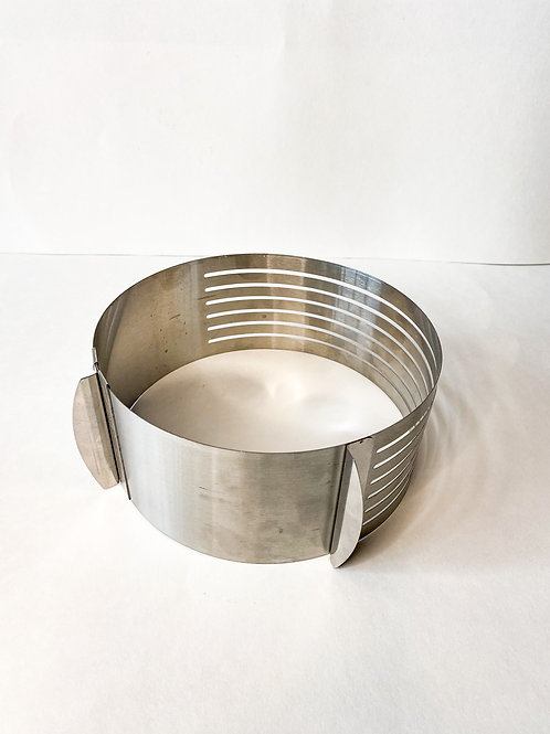 Adjustable DIY Round Stainless Steel Mousse Mould Layer Cake Ring Cutter