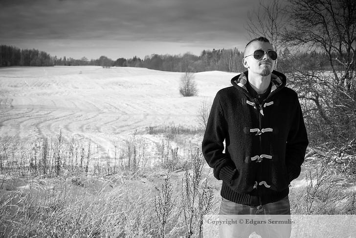 Fields in Winter