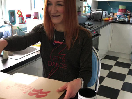 Keeping it real – book unboxing hijacked by family!