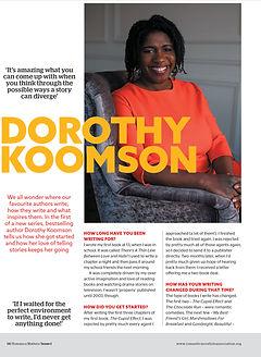RM Dorothy Koomson Issue 1 2020_.jpg