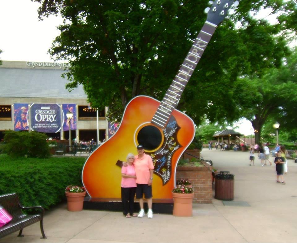 Rachel and Jimmy in Nashville