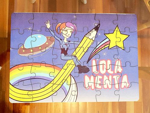 Rompecabezas Lola Menta 30 piezas
