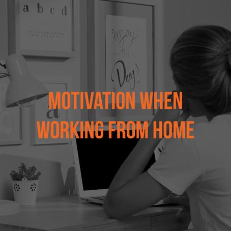Remote Work X Motivation