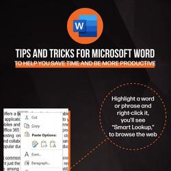 Word MS Tips & Tricks