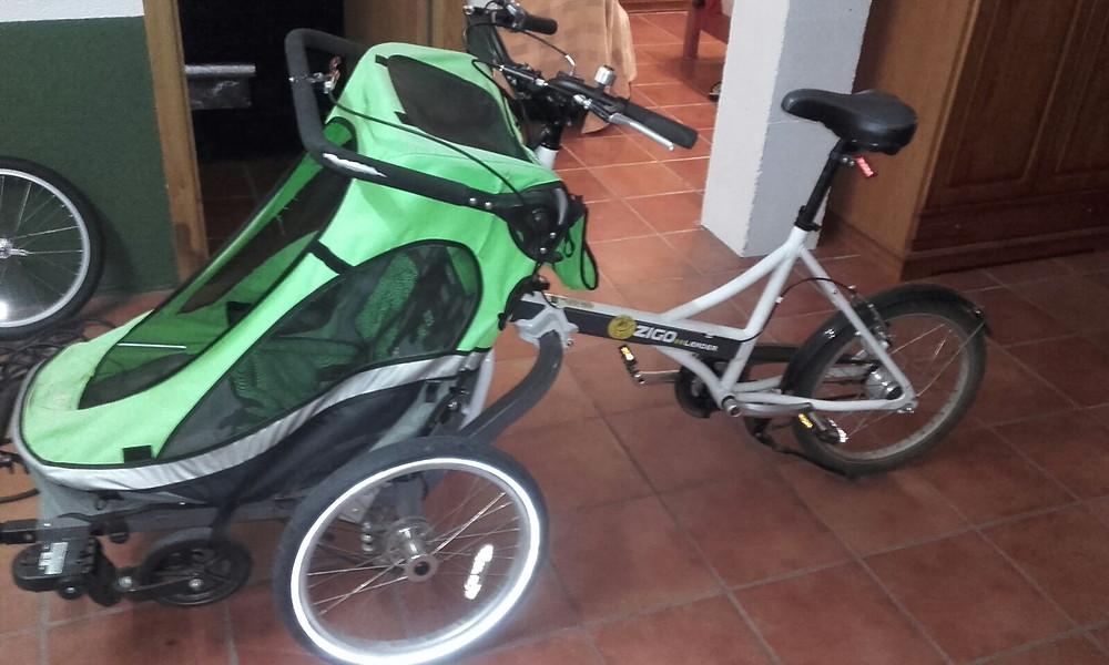 Triciclo modificado a eléctrico por TBBS