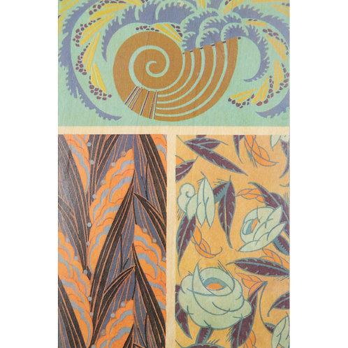 WOODHI - bnf motifs coquillage