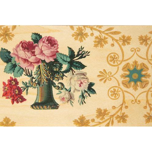 WOODHI - bnf papiers peints vase