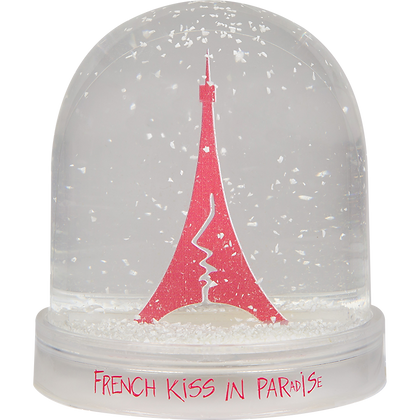 Boule à neige French Kiss in Paradise / Snow globe