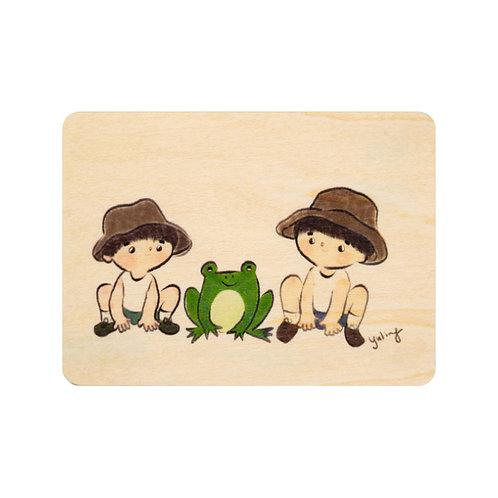 kids 3 frog