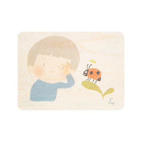 kids 3 ladybug