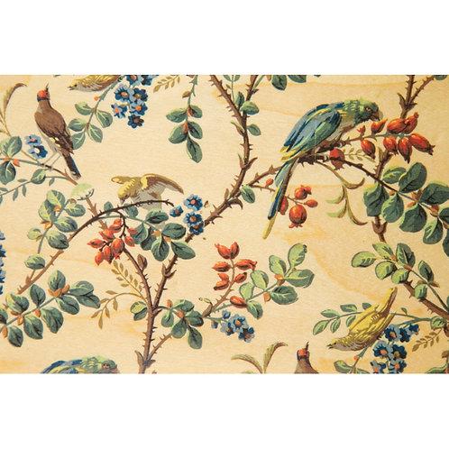WOODHI - bnf papiers peints perroquet