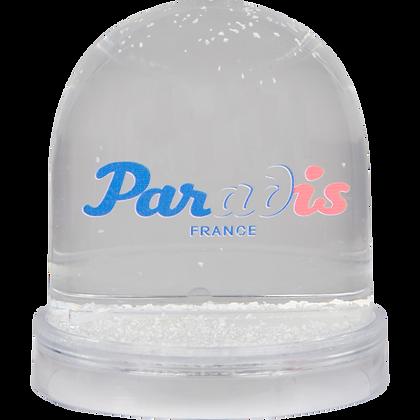 Boule à neige Paradis France / Snow globe
