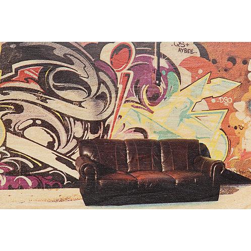 graffiti couch