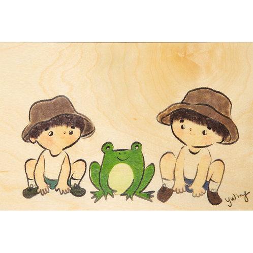 WOODHI - frog