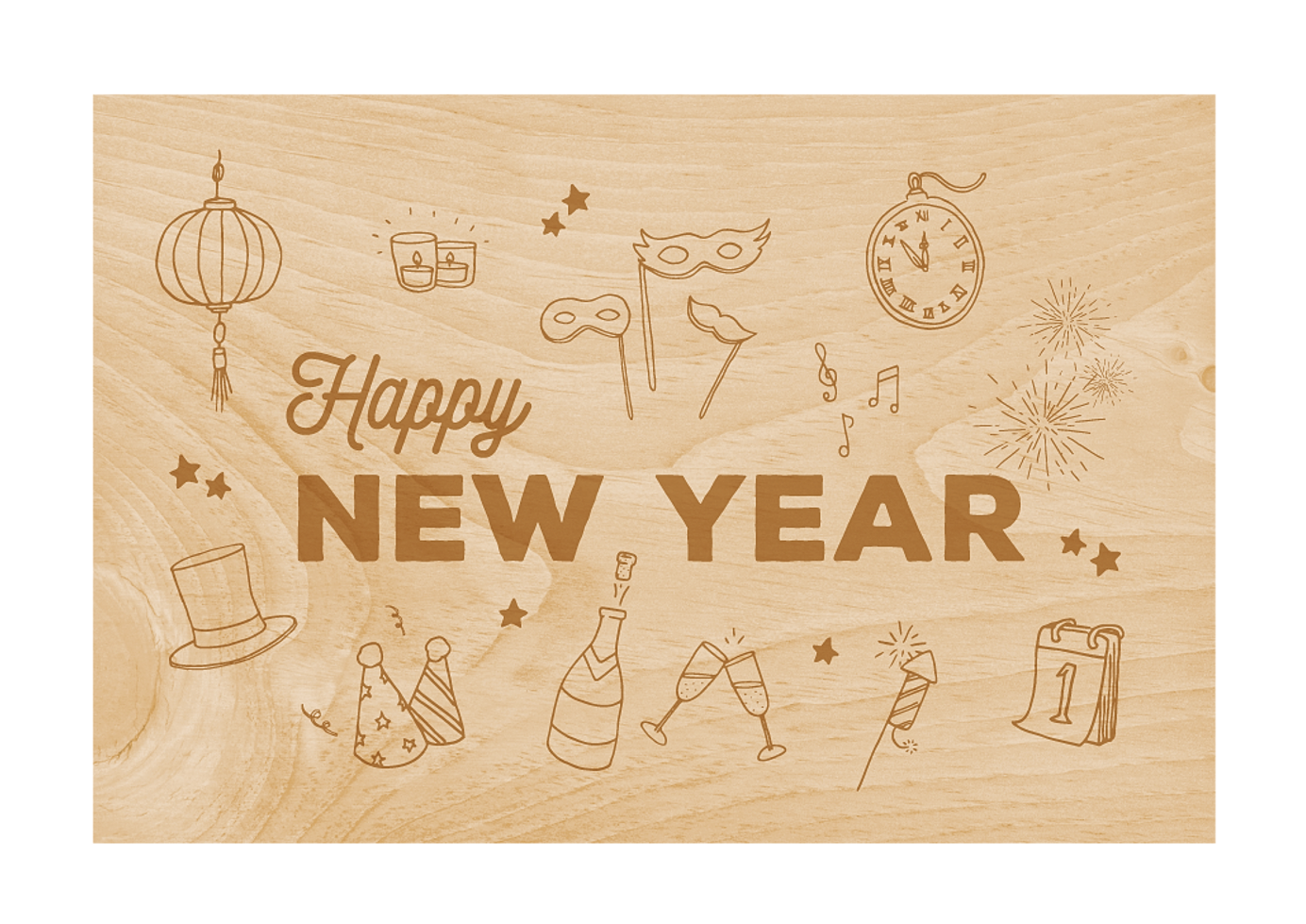 Woodhi collections dont just buy a card collect them greetings new year m4hsunfo