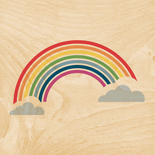 45T rainbow