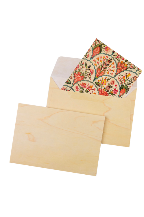 enveloppe bois