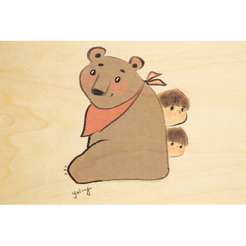 WOODHI - bear