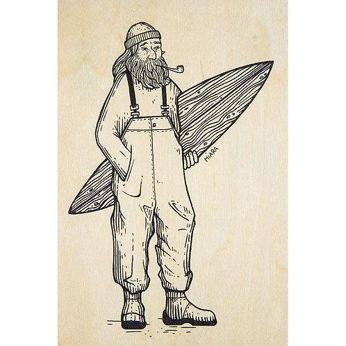 old surfer