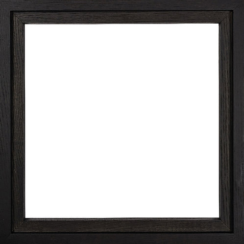 cadre en bois noir