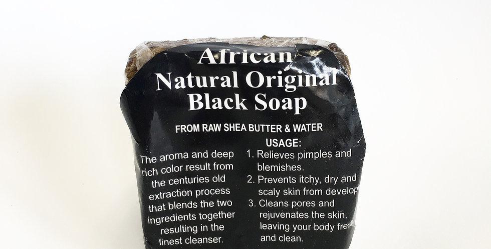 African Black Soap Cake(4oz)