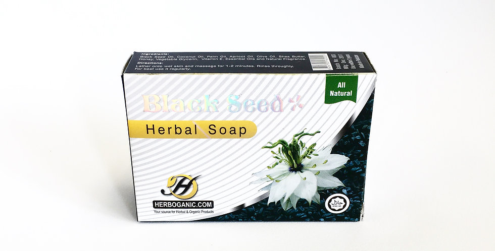 Black Seed Herbal Soap