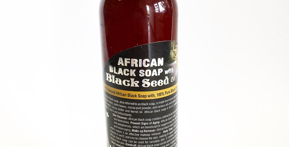 Black Seed African Black Soap