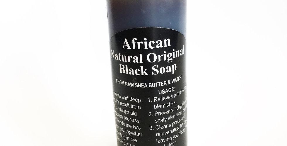 African Black Soap Liquid(4oz)