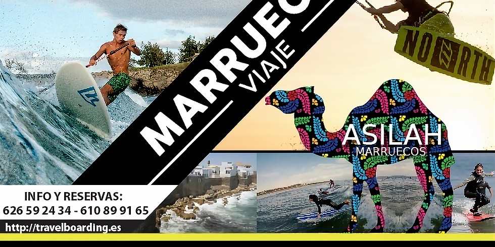 PENDIENTE DE FECHA -17ª EDICION KITE Y SURF TRIP ASILAH  2021
