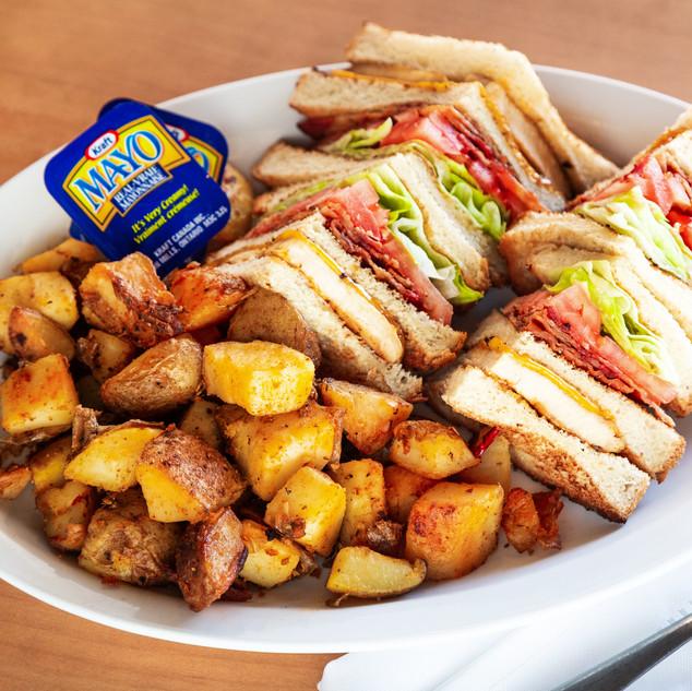 Chicken Club House Sandwich